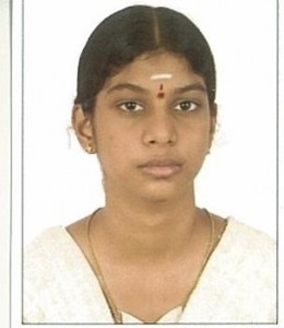 T. ANNAPOORNI - LADY'S SIVASWAMY SCIENCE GROUP TOPPER