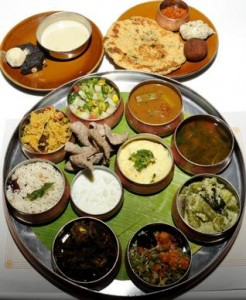 EATING OUT Millet Thali