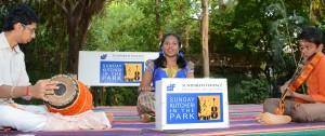 Harini -  kutcheri in the park