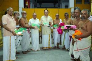 Vedanta desikar temple - panchangam release