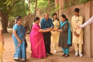 Chettinad Vidyashram - Tree planting