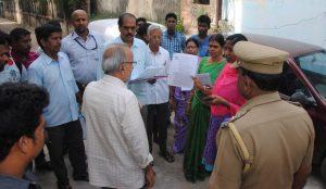 Sri Kapali Temple - property sealed