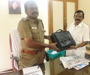 Laptop handed over to police