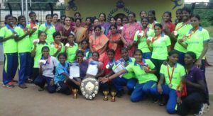 Lady Sivaswami school - sports meet