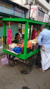 south mada street - flower vendor