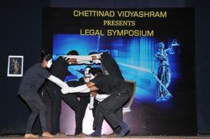 Chettinad Vidyashram - legal symposium