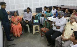Sivaswami kalalaya - robotics meet